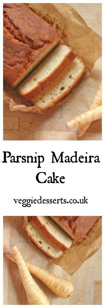 Parsnip Madeira Cake | Veggie Desserts Blog