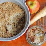 Parsnip and Apple Crumble