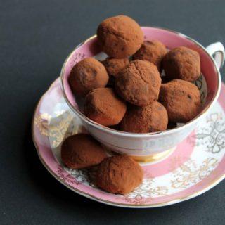 Beetroot Chocolate and Smokey Lapsang Souchong Tea Truffles | Veggie Desserts Blog