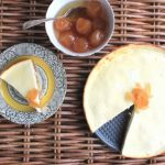 Ginger Yogurt 'Cheesecake' with a Carrot Biscuit Base