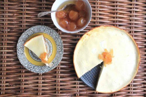 Ginger Yogurt 'Cheesecake' with a Carrot Ginger Base | Veggie Desserts Blog