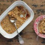 Apple and Pumpkin Crumble with Gingerbread Oat Topping