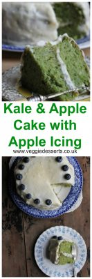 Kale and Apple Cake with Apple Icing | Veggie Desserts Blog by Kate Hackworthy