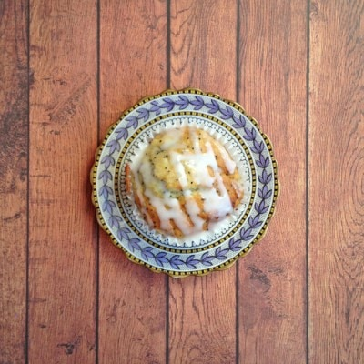 Parsnip Lemon Poppy Seed Muffins