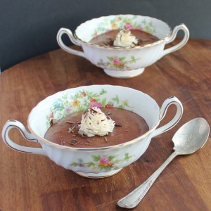 Red Velvet Beet Chocolate Mousse