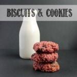 VEGGIE DESSERTS | BISCUITS & COOKIES