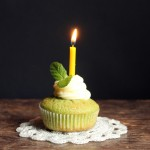 Cucumber and Mint Cupcakes with Rose Water Buttercream (+ my first blog birthday and an award!)