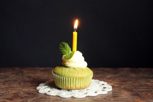 Cucumber and Mint Cupcakes with Rose Water Buttercream   Veggie Desserts