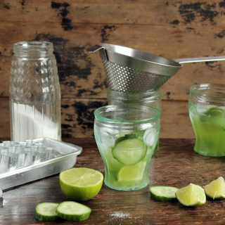 Cucumber Caipirinha Cocktail
