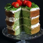 Spinach and Coconut Yogurt Cake