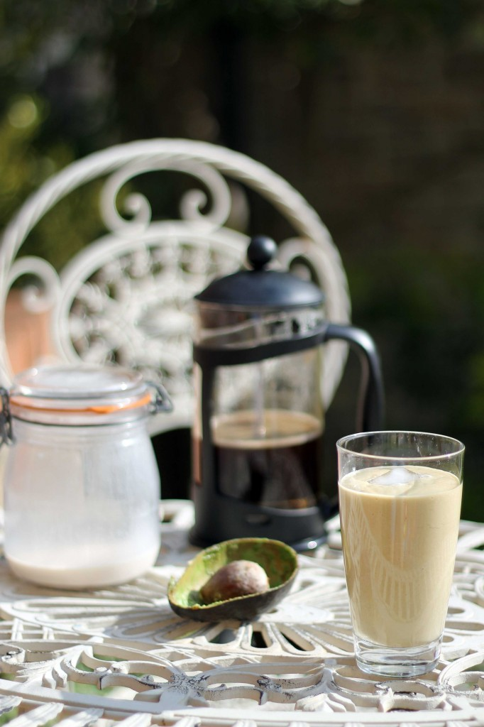 Avocado and Hazelnut Milk Coffee Smoothie (vegan, gluten ...