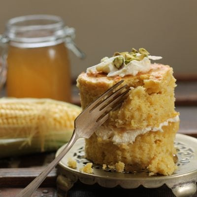 Sweet Corn and Coconut Mini Cakes with Corn Cob Jelly   Veggie Desserts