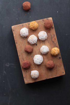 Sweet Potato and Fresh Ginger Protein Balls   Veggie Desserts