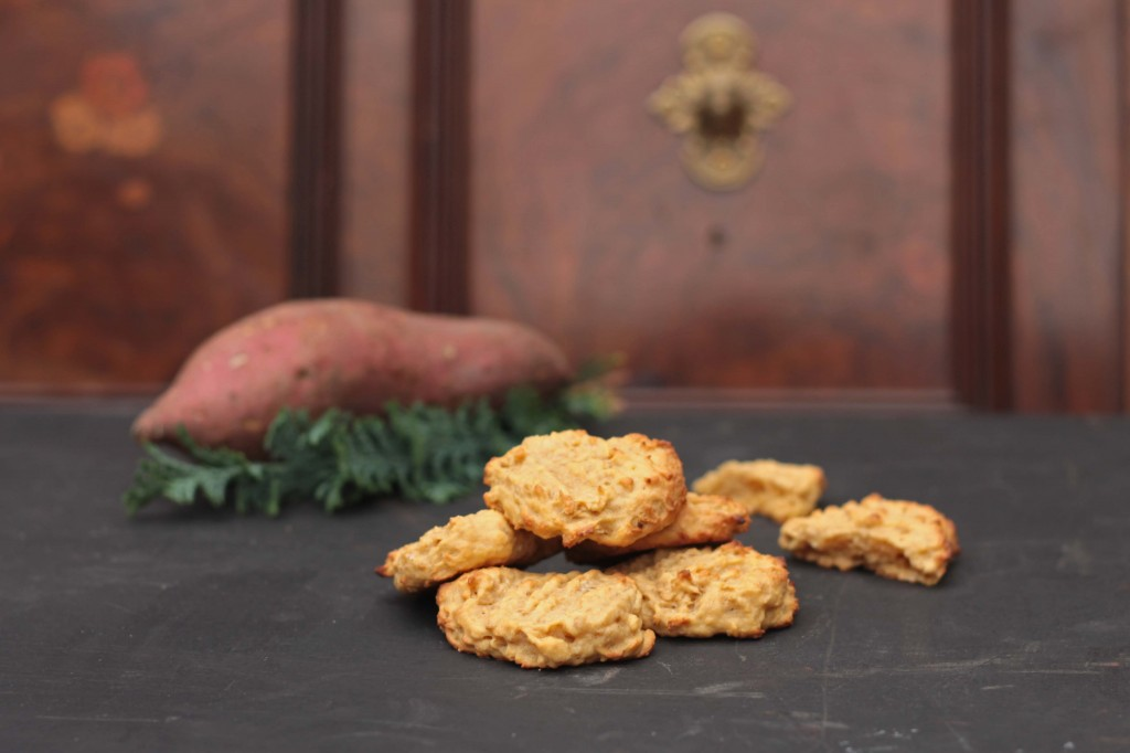 Sweet Potato and Ginger Cookies | Veggie Desserts
