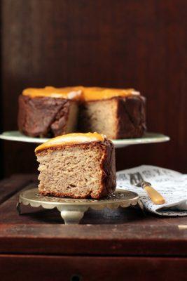 Nutmeg Parsnip Cake with Sweet Potato and Ginger Frosting   Veggie Desserts Blog