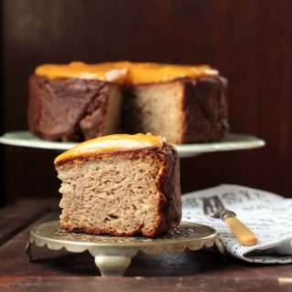 Nutmeg Parsnip Cake with Sweet Potato and Ginger Frosting | Veggie Desserts Blog
