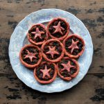 Christmas Mince Pies with Beetroot Pastry