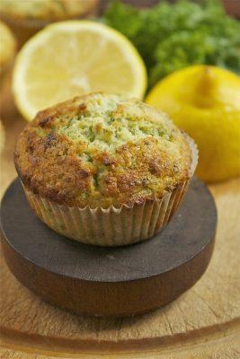 Kale and Lemon Muffins | Veggie Desserts