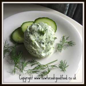Cucumber and Dill Frozen Yogurt