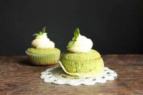 Cucumber and Mint Cupcakes with Rosewater Icing |Unusual ways to eat cucumbers! From cakes and cupcakes to cocktails and on the barbecue - loads of crazy ways with cucumbers! |