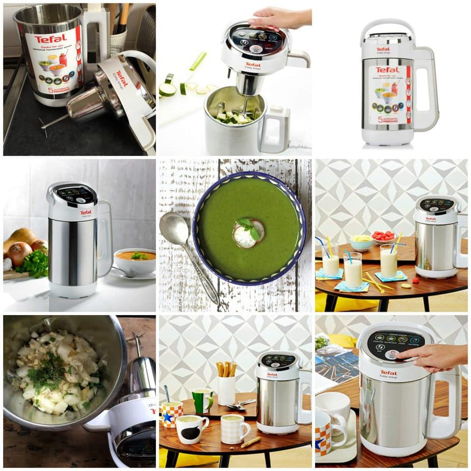 Kale Pea Soup | Tefal Easy Soup Review | Veggie Desserts Blog