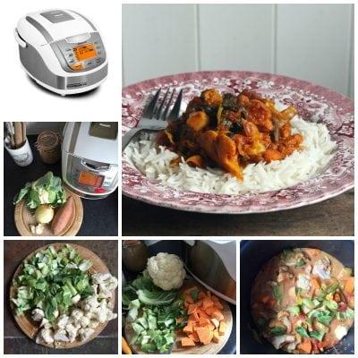 Cauliflower Curry in the Redmond Multicooker | Veggie Desserts Blog