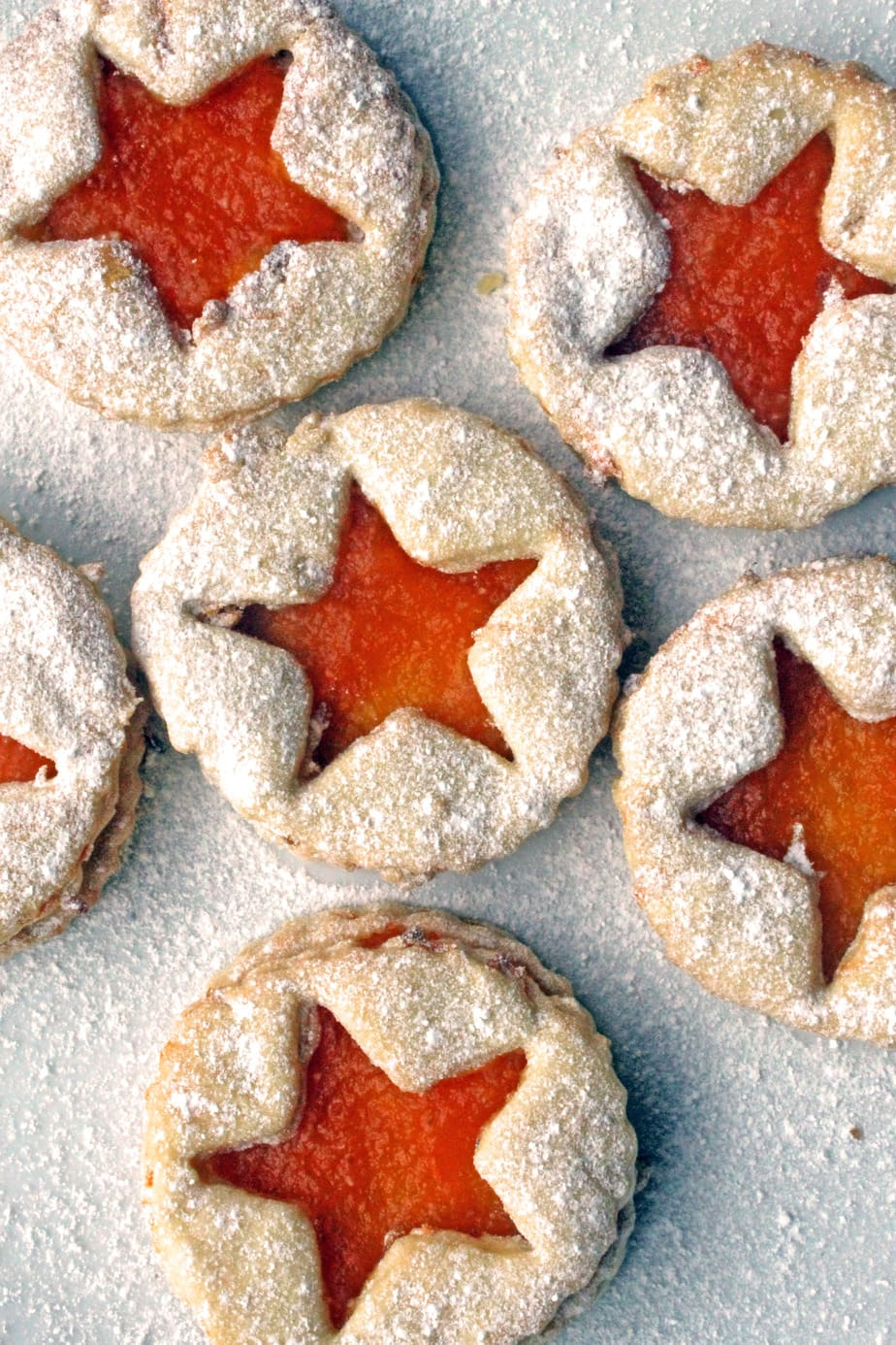 Carrot Jammy Dodgers - childhood biscuits, with a vegetable twist!