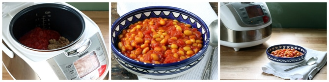 Easy Baked Beans with Turmeric | Veggie Desserts Blog