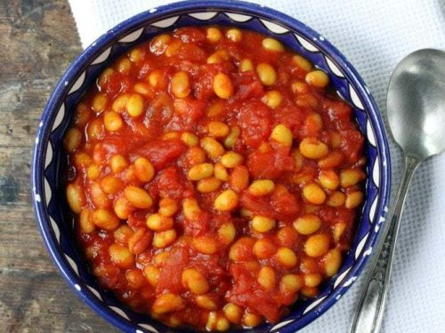 Easy Baked Beans With Turmeric Veggie Desserts