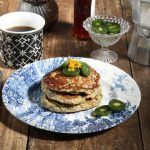 Zesty Orange Chia Pancakes (Vegan, Gluten-Free) | Veggie Desserts Blog