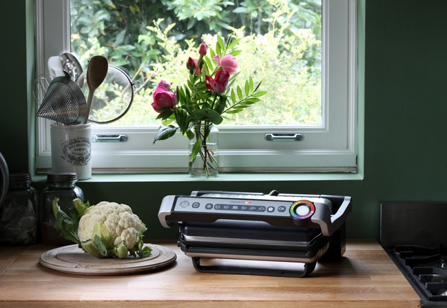 Tefal Optigrill Review | Veggie Desserts Blog