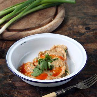 Thai Omelette (Vegetarian Kai Jeow)   Veggie Desserts Blog