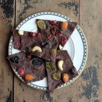 Pumpkin and Spice Dark Chocolate Bark   Veggie Desserts