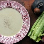 Celery, Apple and Blue Cheese Soup