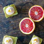 Kale and Blood Orange Cake (with vegan option)