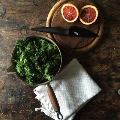 Kale Blood Orange Cake (with tested vegan alternatives) | Veggie Desserts Blog