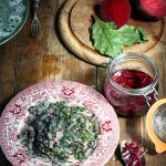Beet Leaf Callaloo and Quick Pickled Beet Stems