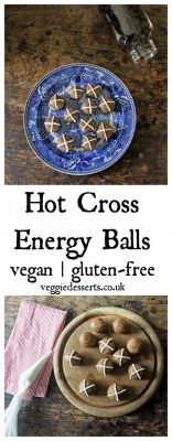 Hot Cross Balls | Vegan & Gluten-Free | Veggie Desserts Blog