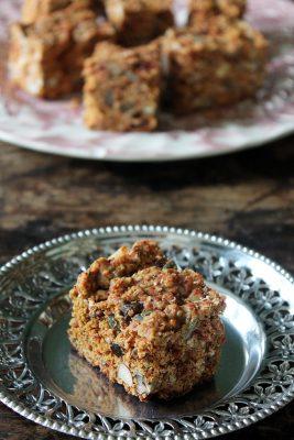 Superfood Cake Bars | Veggie Desserts Blog