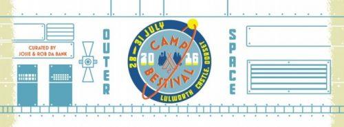 Camp Bestival logo 2016.
