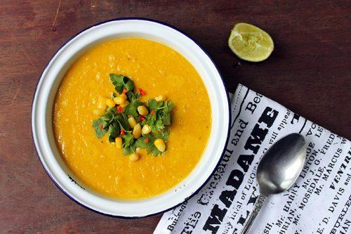 Vegan Corn Chowder | Veggie Desserts Blog