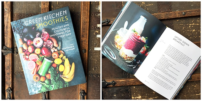 Collage of cookbook pictures.