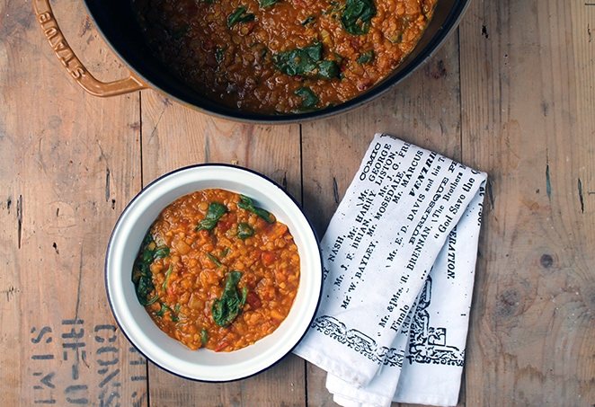 Get the Red Lentil Dahl recipe. It's quick, easy and full of delicious flavour. It's a great midweek meal or curry.