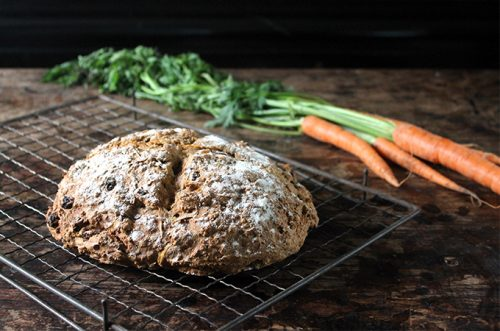 Carrot Cinnamon Soda Bread | Veggie Desserts Blog