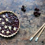 Recipe: Lime and Fresh Cherry Pie