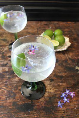 Classic Gin Rickey Cocktail | Veggie Desserts Blog