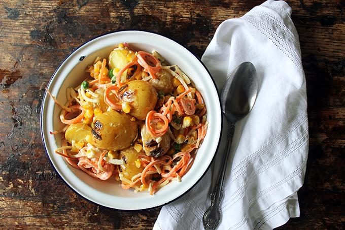 Brazilian Gaucho Potato Salad | Veggie Desserts Blog