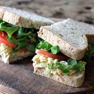 Recipe: Vegan Tuna Mayo Sandwich
