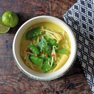 Recipe: Easy Vegan Laksa