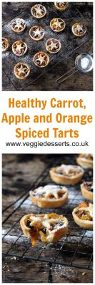 Healthy Carrot and Apple Mince Pies | Organix No Junk Journey | Veggie Desserts Blog